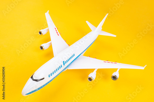 Two-level airliner Canvas Print