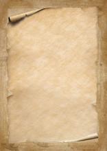 Old Vintage Beige Paper With C...