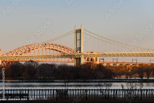 Triborough and Hell Gate Bridge - New York City Canvas Print
