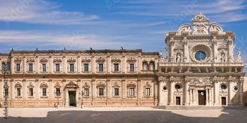 Fototapeta Palazzo dei Celestini e Santa Croce - Lecce obraz