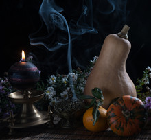 Still Life With A Pumpkin, Can...