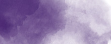 Abstract Purple Watercolor Background. Lavender Color, Delicate Postcard Or Invitation.