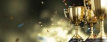 Close Up Golden Trophy Award W...