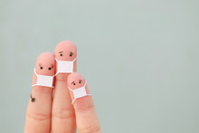 Fingers Art Of Family With Fac...