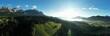 Wilder Kaiser Panorama mit Kitzbüheler Horn