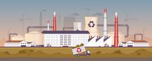 Waste Management Plant Flat Co...