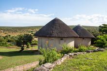 Rondavels Im Addo Elephant Nationalpark In Südafrika