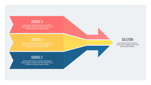 Business Infographic. Arrow Ch...