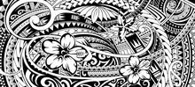 Polynesian Ethnic Ornament