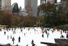 Skating Rink In Central Park I...