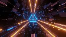 Futuristic Science-fiction Tri...