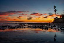 Miramar Beach California Sunse...
