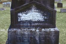 Graves Cemeteries 1800's