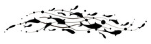 Fish Wave. Decorative Flock Of...