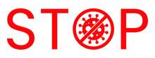 Wuhan Corona Virus Stop Text W...