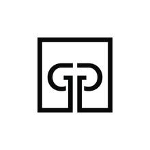 Letter GG Logo Icon Design Template