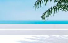 Natural Summer Beach Backdrop ...