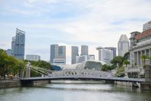 Anderson Bridge In Singapore W...