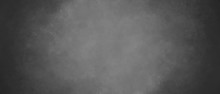 Abstract Gray Background With Dimming At The Edges, Highlighting The Center