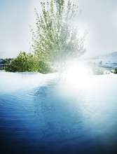 Travertine Pool Of Pamukkale, ...
