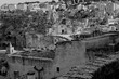 tha Sassi of Matera in black and white