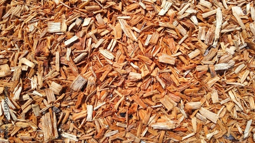 Obraz na plátne Woodchips background