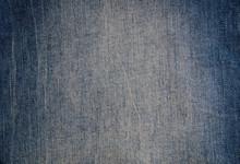 Blue Denim Background With Scuff