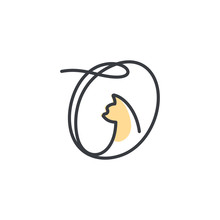 Initial Cat Logo