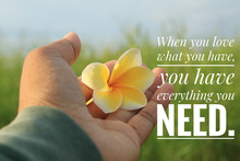 Inspirational Quote - When You...