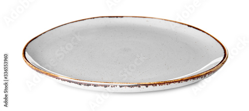 Fotografia Clean plate on white background