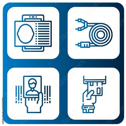 Set of multipurpose icons Fototapeta