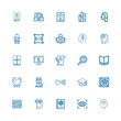 Editable 25 knowledge icons for web and mobile
