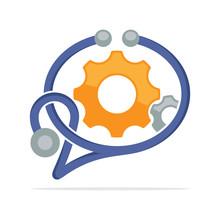 Illustration Icon Concept Supp...