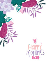 Happy Mothers Day, Flowers Fol...
