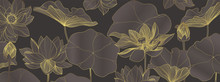 Luxury Lotus Wallpaper Design ...