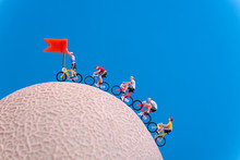 Miniature Toys - Road Cyclist ...