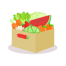Fruits And Vegetable Vector