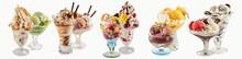 Various Ice-cream Sundaes With...