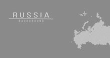 Russia Country Map Backgraund ...