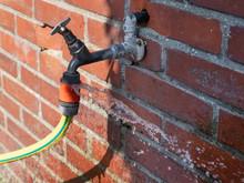 Defective Faucet. Leaking Hose...