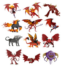 Demons,devils And Creatures Collection