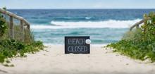 Beach Closed Coronavirus, Beac...