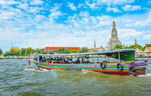 View Over River Chao Phraya Fr...