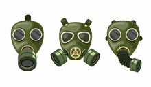 Army Gas Mask Respirator Colle...