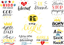 Hand Lettering Set With Bible ...