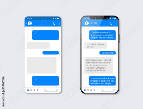Tela Mobile ui kit messenger