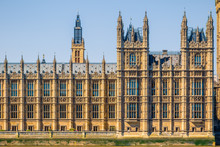 Facade Of Houses Of Parliament...