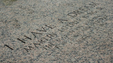 Martin Luther King Inscription...