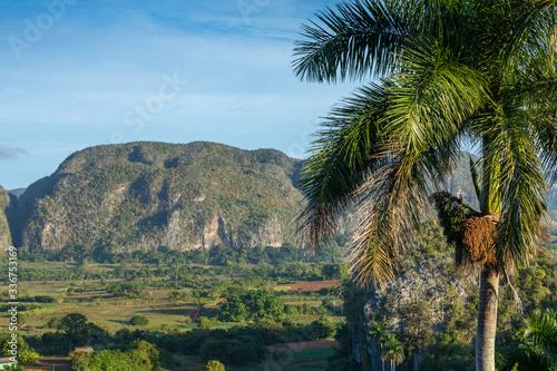 Photo The Vinales Valley (Valle de Vinales), popular tourist destination