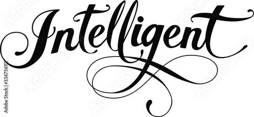 Cuadros en Lienzo Intelligent - custom calligraphy text